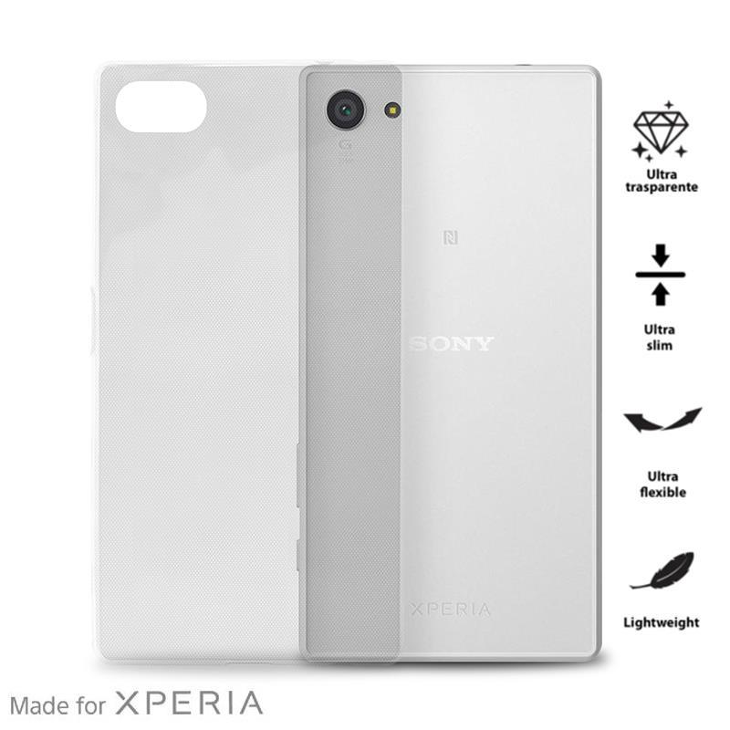 PURO 0.3 Nude - Etui Sony Xperia Z5 Compact (przezroczysty)